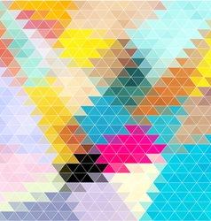 Bright background of the triangles vector