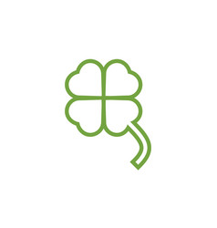 clover leaf clip art graphic design template vector image
