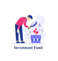 Long term investment portfolio vector