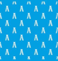 Stepladder pattern seamless blue vector