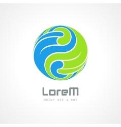 Corporate styles logo design vector image vector image