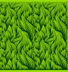 waves gradient grass vector image vector image