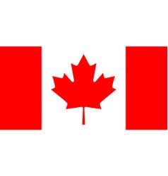 Canadian flag vector