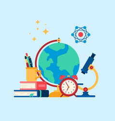 education internet studying vector image