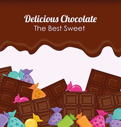 sweet shop vector image