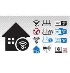 Wifi signal wi fi wireless internet networks vector