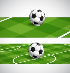 World soccer championship banners vector image vector image