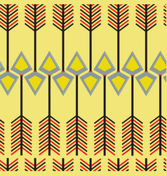 arrows injuns seamless pattern vector image