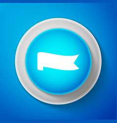 banner ribbon icon isolated on blue background vector image
