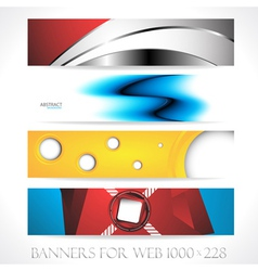 Banners for web collection7 vector image