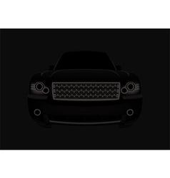 Black car vector