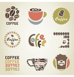 Coffee icon4 vector image