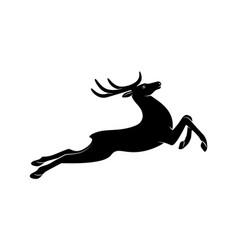 deer sign vector image