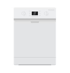 Dishwasher flat design vector