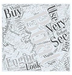 Inspecting Your New Boat Word Cloud Concept vector
