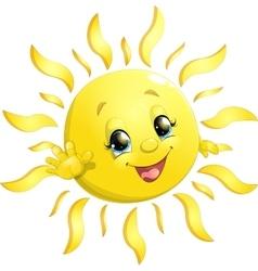 little sun vector image