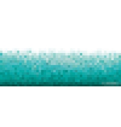 Pixel blue Background for card or poster vector image