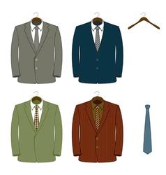 Suit coats vector
