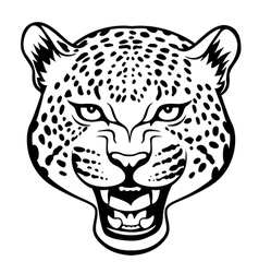 Tribal jaguar vector image