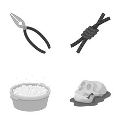 history cleaning and other monochrome icon in vector image vector image