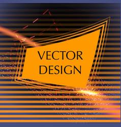 business frame design vector image vector image