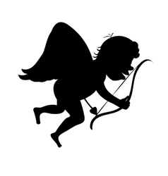 Cupid arrow path vector image