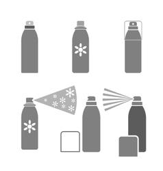 Deodorant icon vector