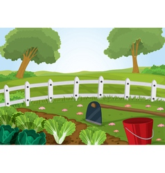 Farm and gardening tools vector