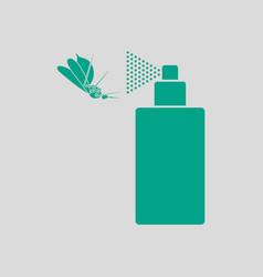 Mosquito spray icon vector