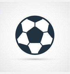 soccer football ball colored vector image