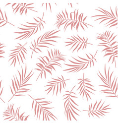tropical seamless floral pattern background vector image