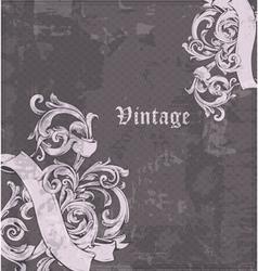 vintage corner vector image vector image