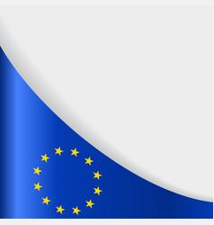 European union flag background vector