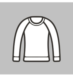 Jumper for women icon on background vector image vector image