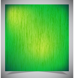 Abstract green wood background vector