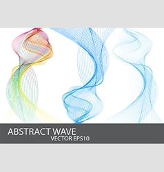 Abstract Beautiful Wave vector image