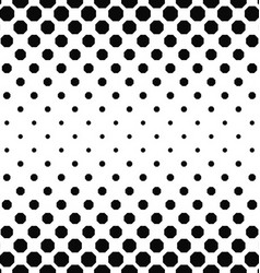 Abstract black white octagon pattern background vector