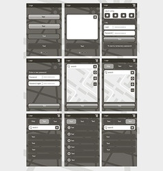 Application template2 vector