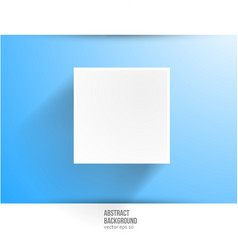 banner background White square vector image
