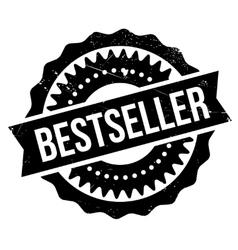 Bestseller stamp rubber grunge vector