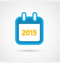calendar icon - 2015 vector image