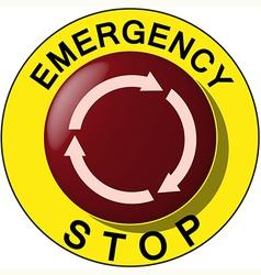 emergency vector image