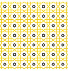 islamic pattern arabic star seamless abstract vector image