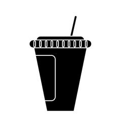 Isolated soda mug design vector