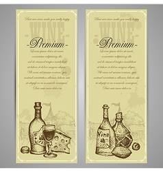 Premium restaurant menu vector