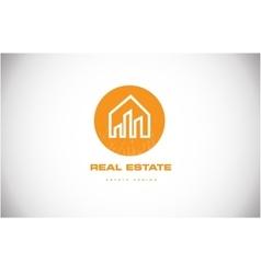 Real estate house home logo icon design vector