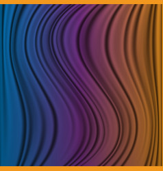 Abstract background with flowing lines and waves vector