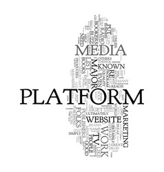 your platform and why it can make or break your vector image vector image