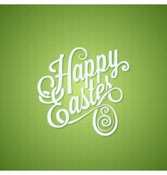 easter egg vintage lettering design background vector image vector image