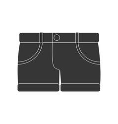Shorts icon vector image vector image